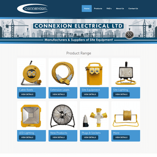 Site Equipment Suppliers - Connexion Electrical