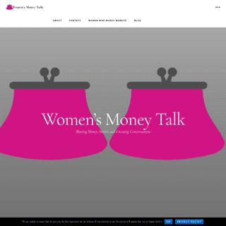 ArchiveBay.com - womensmoneytalk.com - Womens Money Talk - Sharing Money Stories and Creating Conversations