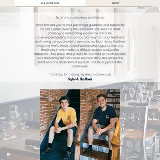 ArchiveBay.com - cafebluemoose.com - Blue Moose Restaurant - BYOB