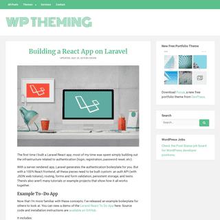 WP Theming - WordPress Tutorials