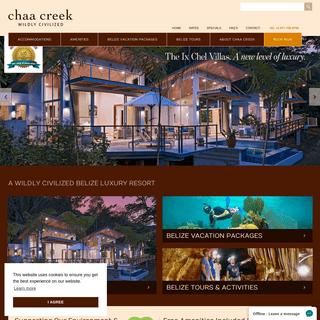 Belize Luxury Resort - Belize Best Jungle Lodge - Chaa Creek