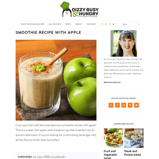 Quick Recipes for Busy Families - Dizzy Busy and Hungry