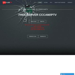 Freecamtv - CCcam IPTV server free premium