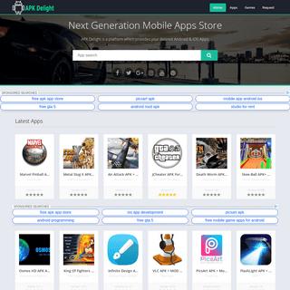 APK Delight - Next Generation Mobile Apps Store