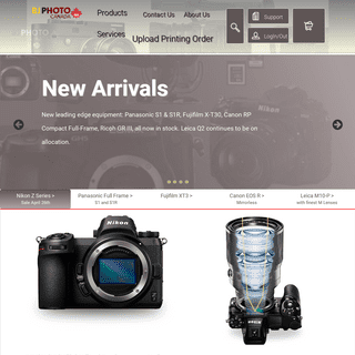 Home Page BJ Photo (Canada) - Since 1984 - Waterloo, Ontario's Camera Store and Professional Lab