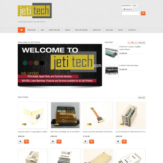 JetiTech - Grand Format Printers, Parts and Services