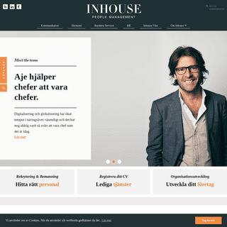Inhouse - Rekrytering & bemanning - Stockholm & Göteborg