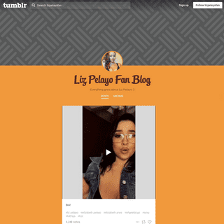 Liz Pelayo Fan Blog