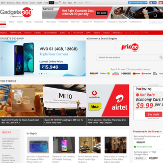 ArchiveBay.com - gadgets360.com - Tech News, Latest Technology, Mobiles, Laptops – NDTV Gadgets 360
