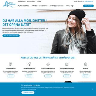 ArchiveBay.com - openuniverse.se - Open Universe - Det öppna fibernätet