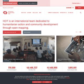 Humanitarian OpenStreetMap Team - Home