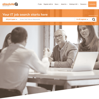 ArchiveBay.com - absoluteit.co.nz - Absolute IT - IT jobs in New Zealand by the industry experts