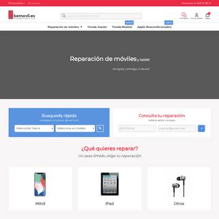 Reparación de móviles ✅ AENOR ISO 9001 - bemovil.es