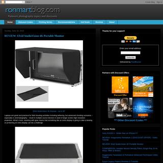 ArchiveBay.com - ronmartblog.com - Ron Martinsen's Photography Blog
