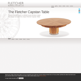 Fletcher Burwell-Taylor - Bespoke handcrafted expanding table