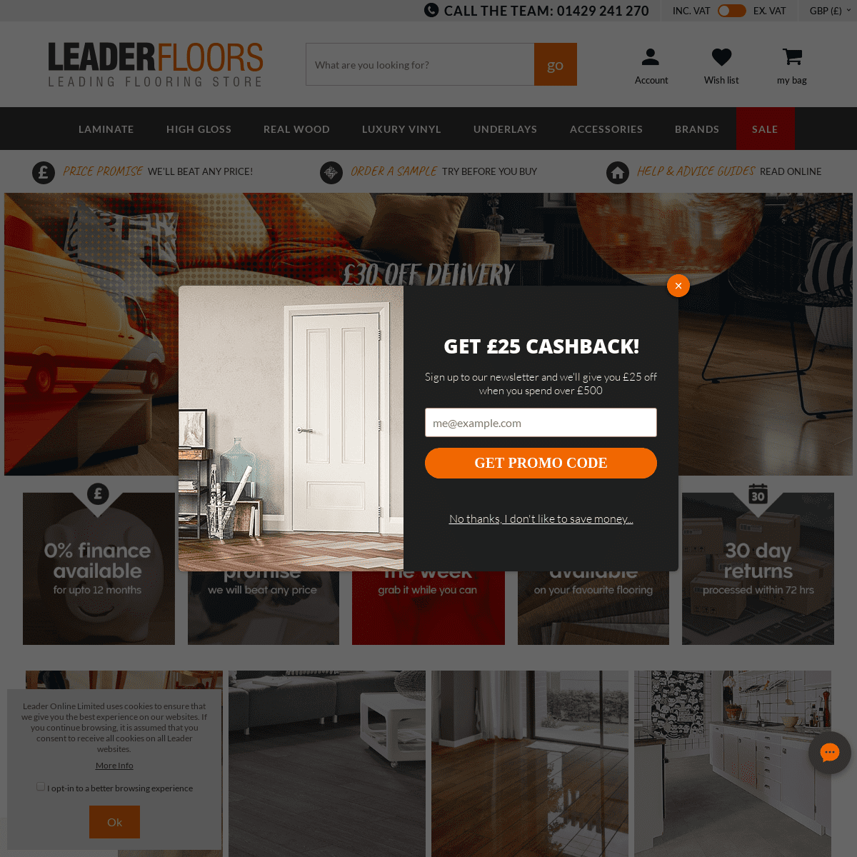 ArchiveBay.com - leaderfloors.co.uk - Quality Flooring - Wood, Laminate, Vinyl & Underlays - Leader Floors