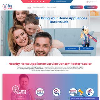 Nearby Home Appliance Service Center-Doorstep Hub