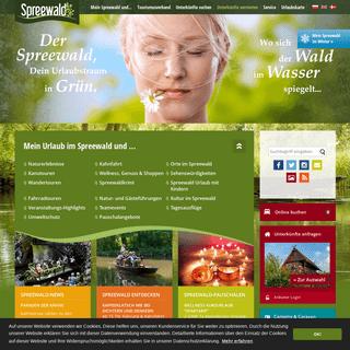 Urlaub im Spreewald- Unterkünfte, Kahnfahrten, Paddeltouren