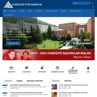 Yeditepe Üniversitesi - Atatürk Rönesansını Devam Ettiren Üniversite