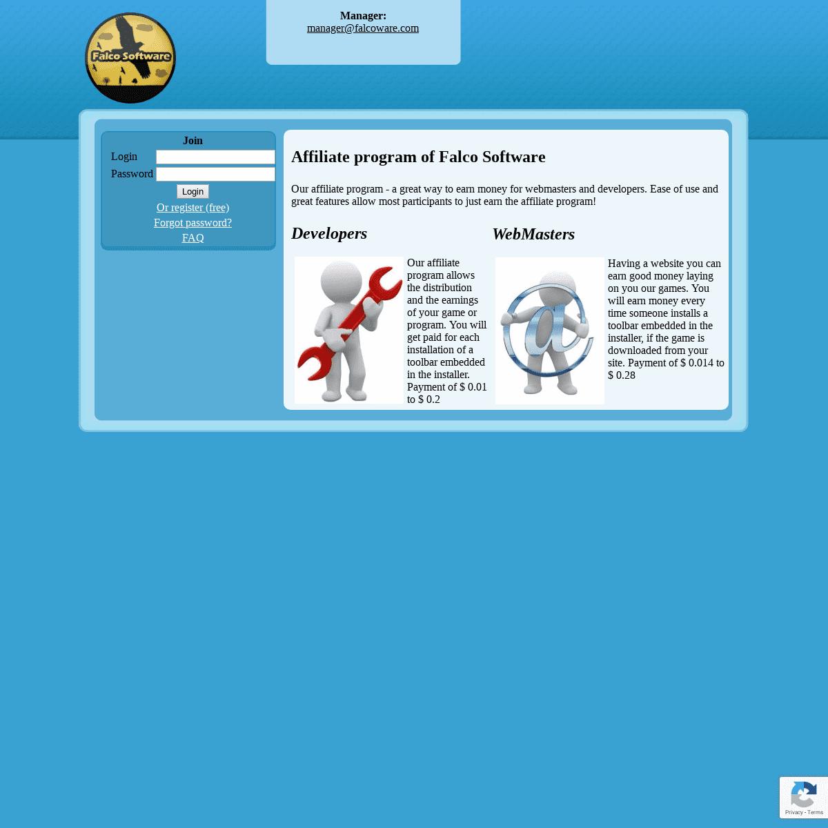 ArchiveBay.com - falcopartners.com - Партнерская программа Falco Software