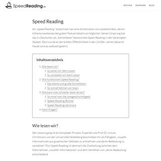 Speed Reading- Die ultimative Einführung (inkl. Praxistipps)