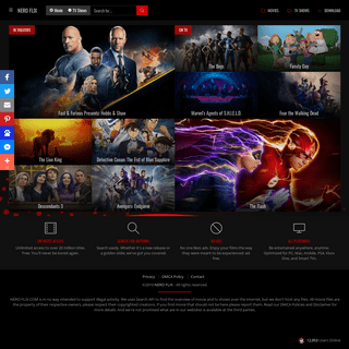 NERO FLIX - Watch TV Shows, Cinema, Movie Online Streaming Full HD, Live Stream, Free Online HD Quality