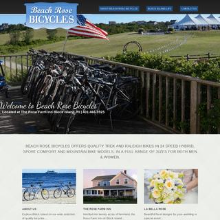 Welcome to Beach Rose Bicycles - Bike Rentals Block Island RI