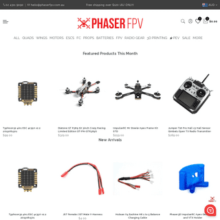 Phaser FPV - Service and Speed Guaranteed