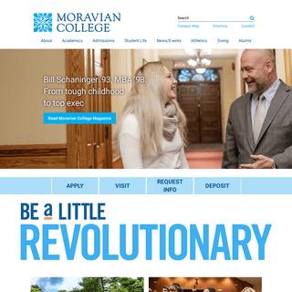 Home - Moravian College