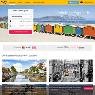 Online Flüge vergleichen- Nutze Flighttix.de!