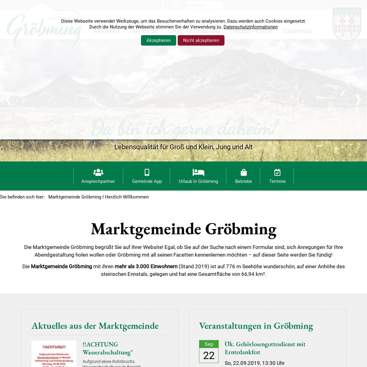 ArchiveBay.com - groebming.at - Marktgemeinde Gröbming I Herzlich Willkommen