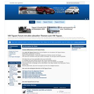 ArchiveBay.com - tiguanforum.de - Portal - VW Tiguan Forum mit allen aktuellen Themen zum VW Tiguan.