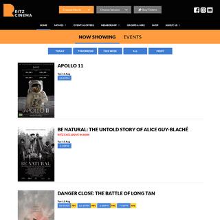 Ritz Cinema- Independent art-deco cinema