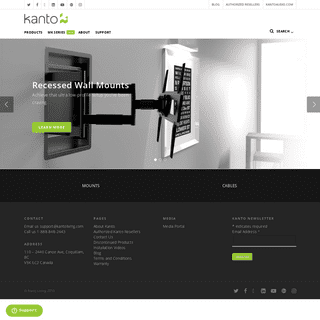 Kanto Mounts - Supporting Your Digital Lifestyle