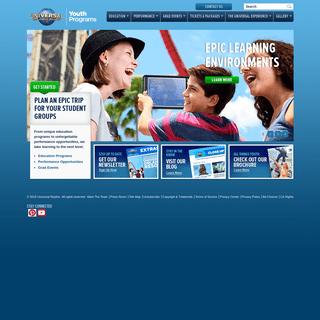 Youth Programs - Universal Orlando®