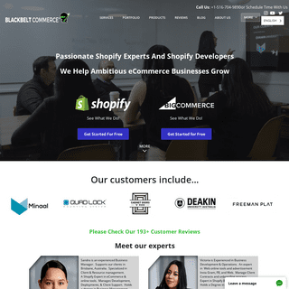 Hire Top Shopify Experts & Developers in 2019 -- Blackbelt Commerce™