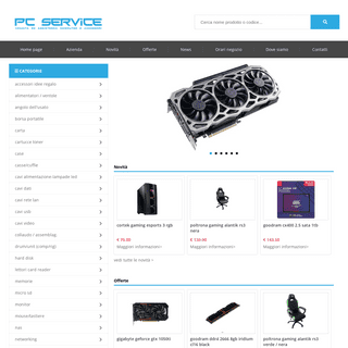 PC Service Ravenna - Vendita hardware, accessori informatici - PC Service Ravenna