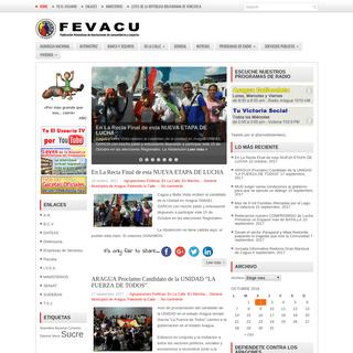 FEVACU - Federación Venezolana de Asociaciones de Consumidores y Usuarios