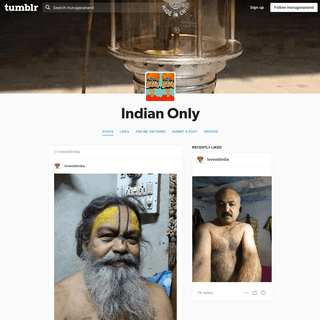 Indian Only