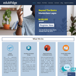 ArchiveBay.com - edubridge.com.ng - Edubridge Consultants Limited - IT Consultancy Company - Web Development Services