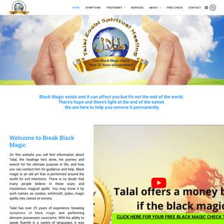 Break Black Magic - Remove Black Magic - Spiritual Healing