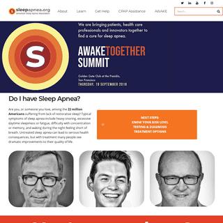Sleepapnea.org – The official website of the American Sleep Apnea Association (ASAA)