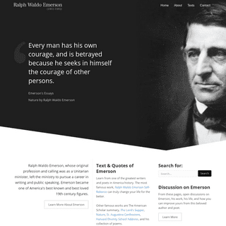 Ralph Waldo Emerson - Selected Works and Essays