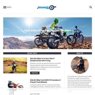 Dirt Bike Planet – This site is for those who want to learn everything they can about off-roading on dirt bikes. Since 2006, D