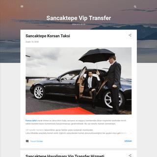 Sancaktepe Vip Transfer