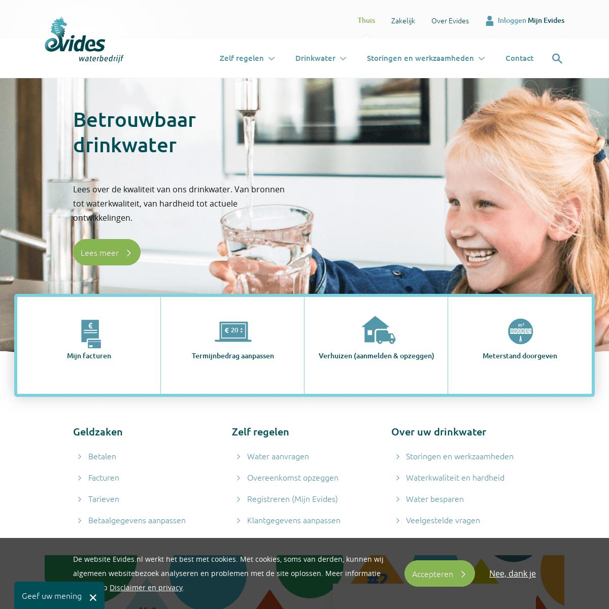 Home - Evides Waterbedrijf