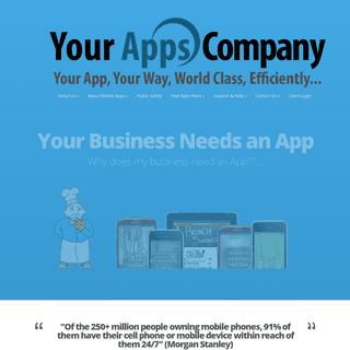Your Apps Company - Your App, Your Way, in no time, with Your App Company