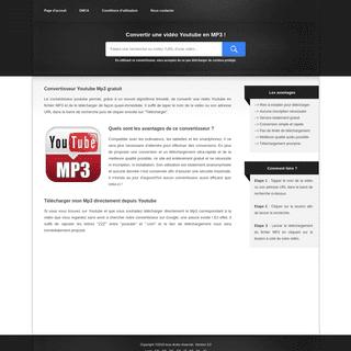 ⓵ Convertir et télécharger une vidéo Youtube au format MP3
