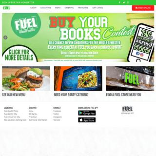 Fuel- Recharge Yourself - Philadelphia's Healthy Kitchen