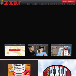 COOK OUT - Fresh Burgers, BBQ, Hot Dogs, and Shakes